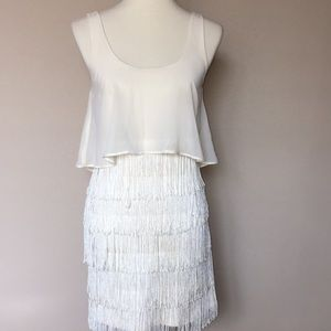 American Eagle outfitters fringe dress